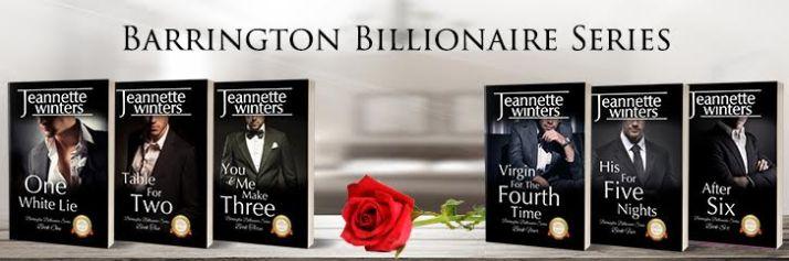 barrington billionaire's banner
