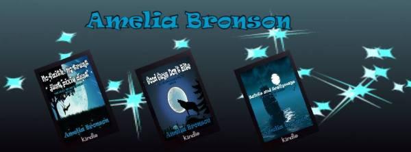 AMELIA BRONSON 3 BOOKS