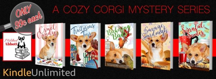 COZY MYSTERY 5 BOOKS