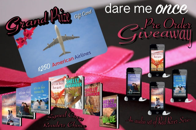 DARE ME ONCE PRE ORDER GIVEAWAY