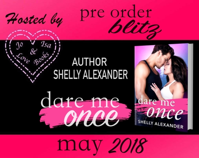 hosting DARE ME ONCE MAY PRE ORDER