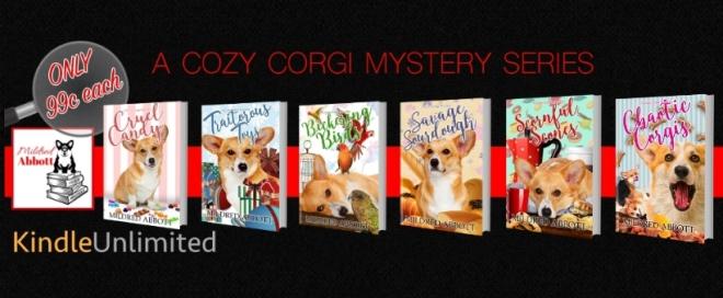 COZY CORGI 6 BOOKS BANNER
