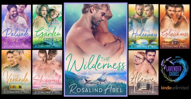 LAVENDER SHORES 8 BOOKS