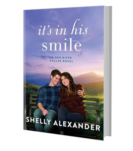 IT'S IN HIS SMILE PAPERBACK
