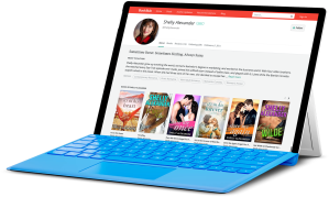 BOOKBUB LAPTOP - SHELLY
