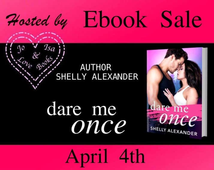 hosting DARE ME ONCE EBOOK SALE