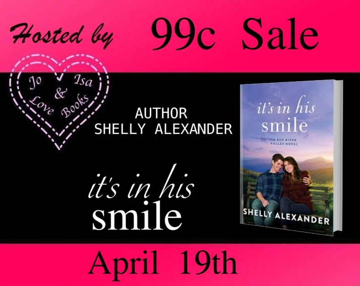 hosting it's in his smile 99c sale