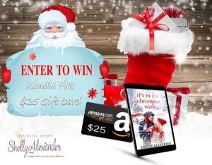 IT'S IN HIS CHRISTMAS WISH ENTER TO WIN