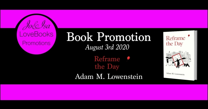 REFRAME THE DAY BOOK PROMOTION BANNER
